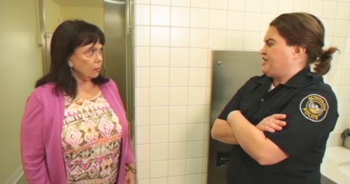bathroom cops