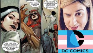 DC Comics Flag October Sturges