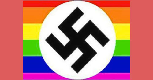 Symbols of gay hate