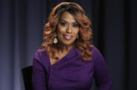 FILE - In this Oct. 7, 2016 file photo, actress and singer Jennifer Holliday poses for a photo during an interview in New York. Holliday, who will perform at Donald Trump's inaugural welcome concert next week, supported Hillary Clinton in the election and says her decision to participate is not a political statement.