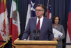 Lt. Gov. Dan Patrick and Sen. Lois Kolkhorst at a press conference introducing Senate Bill 6, Jan. 5, 2017.