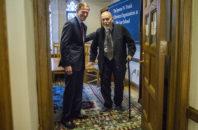Senator Richard Blumenthal and H. Edward Spires