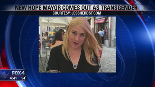 Transgender mayor finds 'overwhelming' support in Texas town