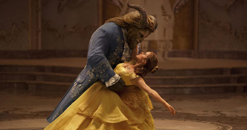 Emma Watson Responds To 'Beauty And The Beast' Success With Set Selfie