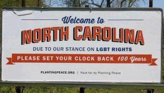 NC HB2 billboard