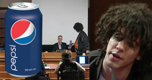 A Pepsi Can Made An Awkward Appearance During A City Council Meeting class=