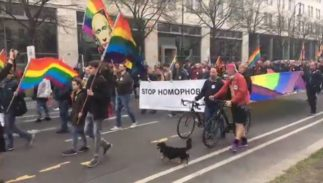 Germany lgbt rights rally