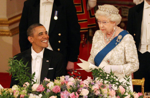 Obama Queen Elizabeth