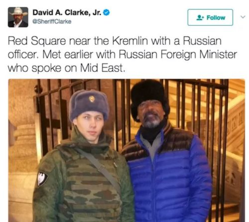 David Clarke Russia