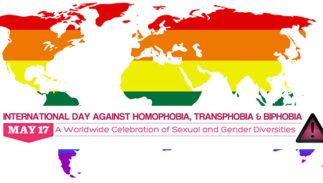 International Day Against Homophobia Transphobia Biphobia