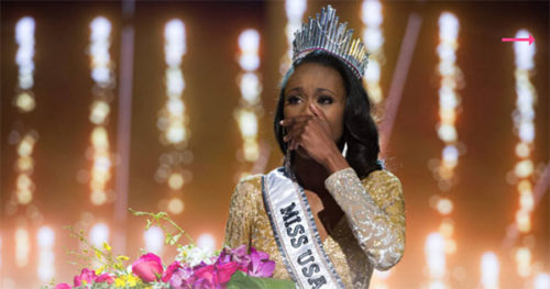 Miss District Of Columbia Kára McCullough Crowned 2017 Miss USA