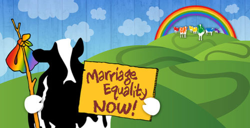 Ben & Jerry's just announced the most creative marriage equality protest yet