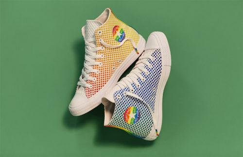 195025c63eb249 Converse kicks off Pride season with a bold new line of rainbow ...