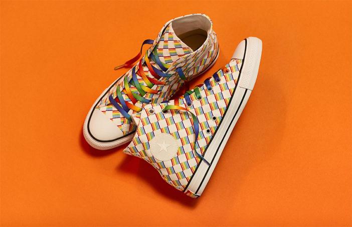 9eb1ee2d3f58dd Converse kicks off Pride season with a bold new line of rainbow Chucks