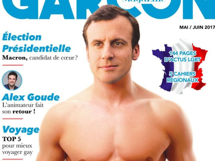 The Russian newspaper Komsomolskaya Pravda ran an article about Emmanuel Macron calling him both gay