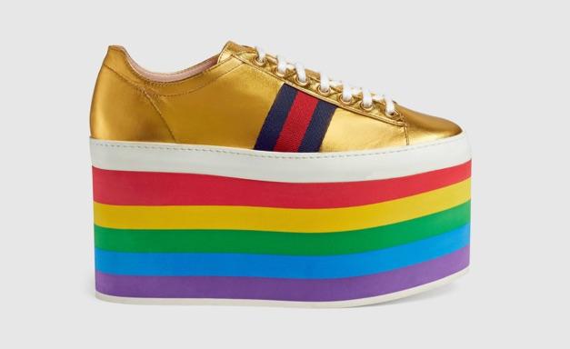 18cebcbcf98a Gucci s new pride-themed sneakers are every fashion queen s dream come true