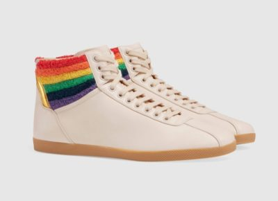 743b061ad979 Gucci s new pride-themed sneakers are every fashion queen s dream ...