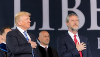 Black gay former staffer sues Jerry Falwell's Liberty University for discrimination
