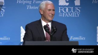 Mike Pence Focus on the Family