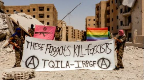 'The Queer Insurrection and Liberation Army' are fighting homophobic Islamic State