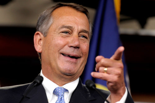 John Boehner says Republicans will 'never' repeal and replace Obamacare