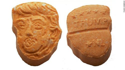 $46K Worth of Donald Trump Ecstasy Tablets Seized in Huge Drug Bust