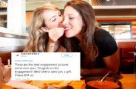 chilis lesbian engagement