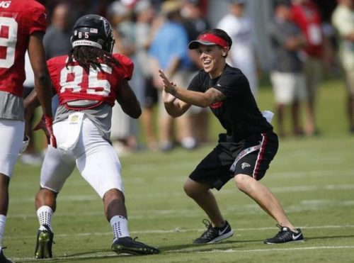 Hesston native Katie Sowers becomes NFL's first openly gay coach