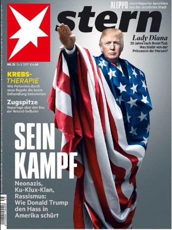 trump magazine cover germany