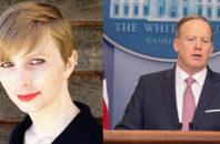 Chelsea Manning Sean Spicer