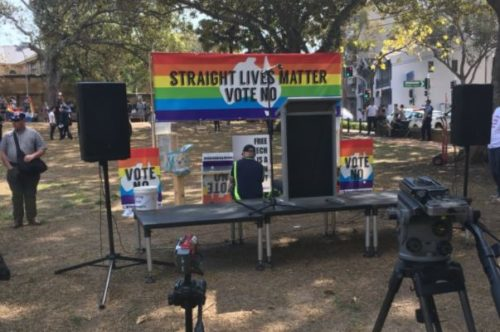 straight lives matter rally australia