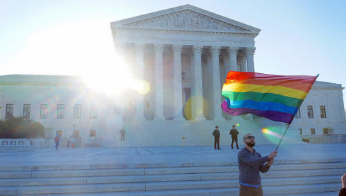 US Supreme Court appears divided in 'gay wedding cake' case
