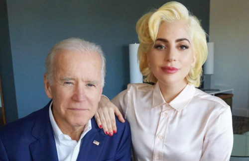 joe biden lady gaga