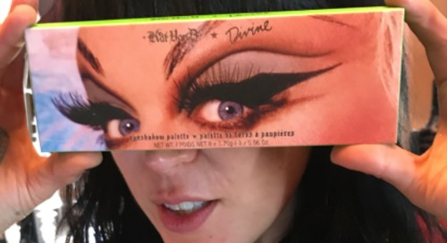 Kat Von D Divine makeup