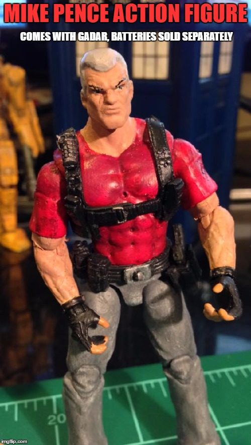 Mike Pence action figure