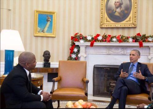 Kehinde Wiley Obama