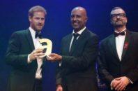 prince harry princess diana award