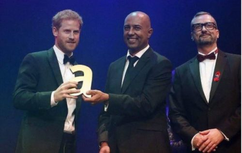 prince harry princess diana award