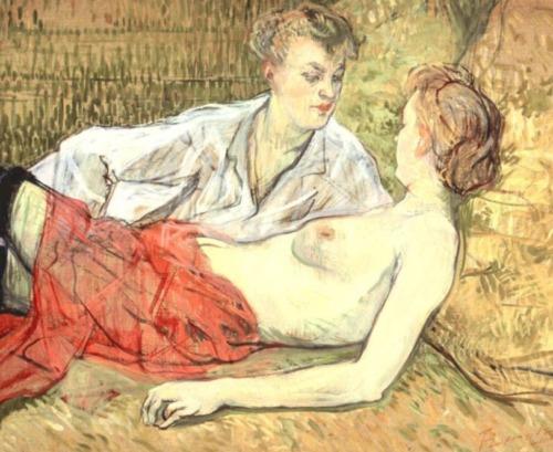 Toulouse lautrec lesbian