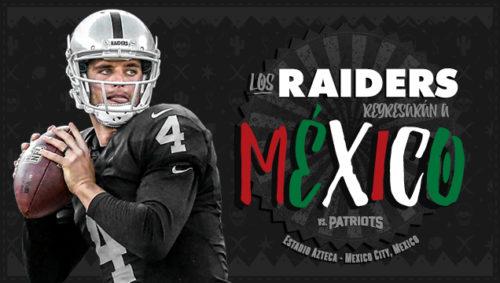 raiders patriots mexico
