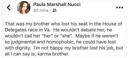 Paula Marshall twitter