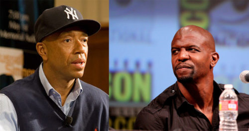 Russell Simmons Terry Crews