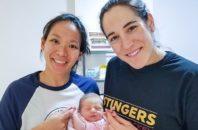 Julie Chu Caroline Ouellette baby
