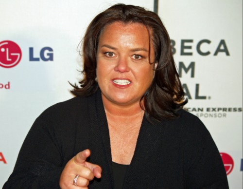 Did Rosie O'Donnell try to bribe Republican senators?