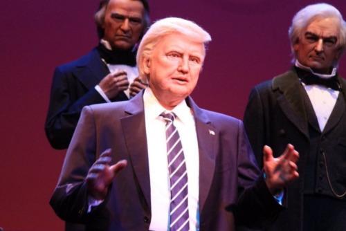 Disney World slammed for 'horrible' animatronic Trump that 'looks like Jon Voight'