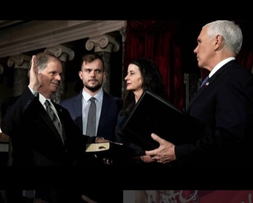 Doug Jones's Gay Son Trolled Mike Pence