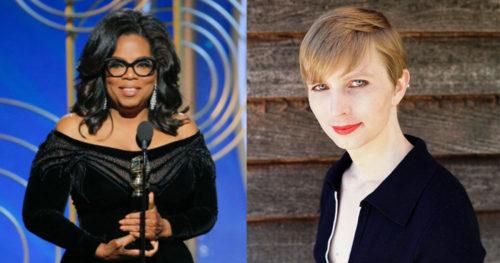 Oprah Winfrey Chelsea Manning