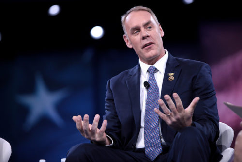 Zinke Disregards Importance Of Diversity Within Interior Department