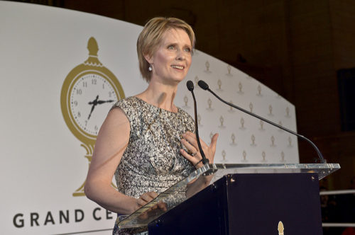 Possible NY Governor Run For 'Sex and the City' star Cynthia Nixon