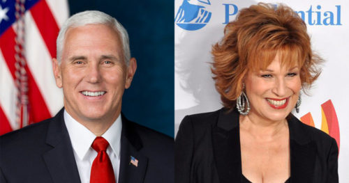 Bob Iger says Joy Behar apologized to Pence over Christianity cracks